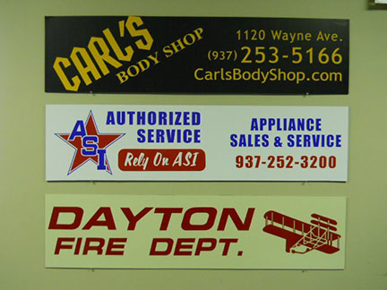 business signs graphics